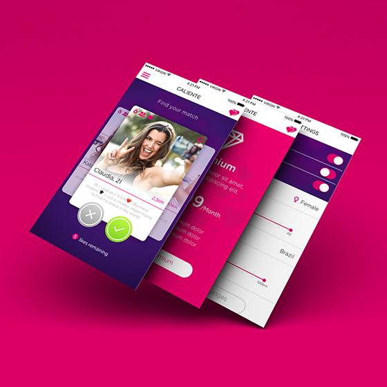 JULIA: Caliente dating app